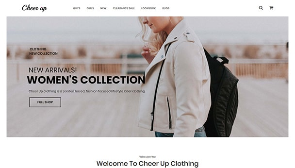 Cheer Up Clothing