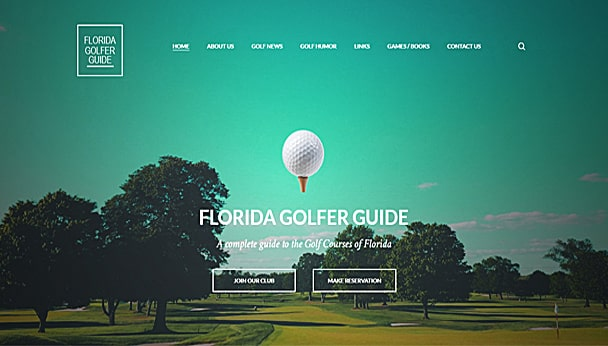 Florida golfer guide